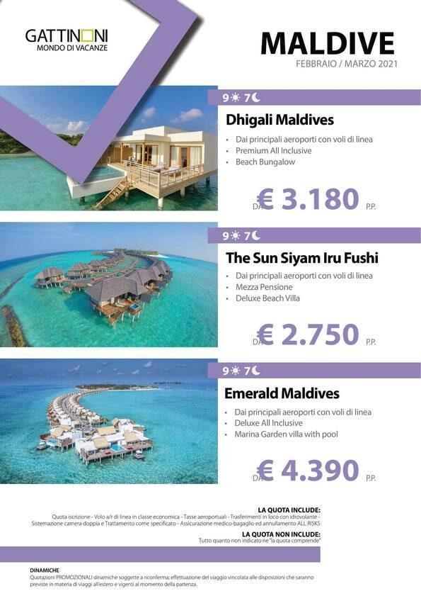 Terra di Mezzo Viaggi - Destinazione - Maldive